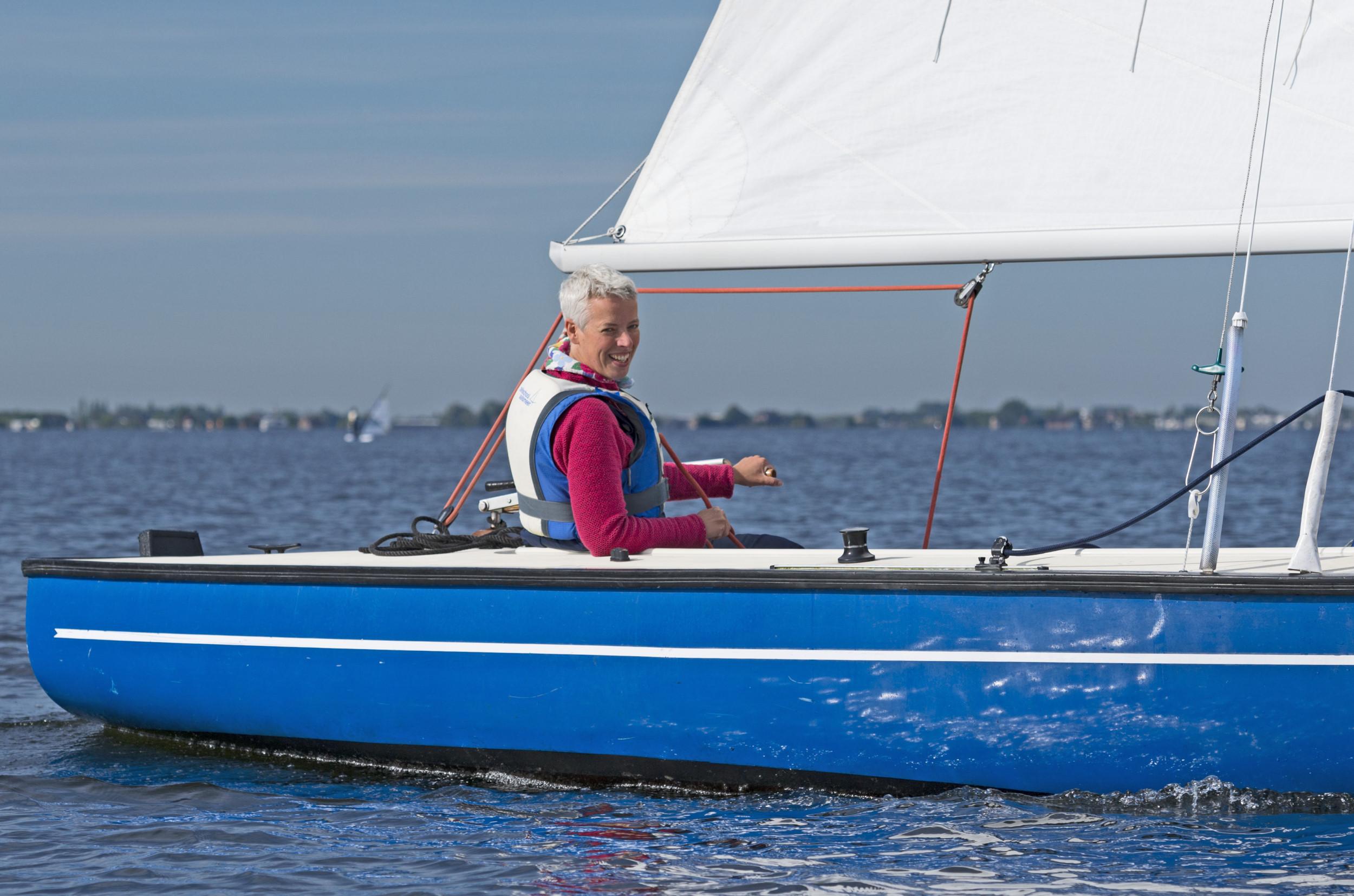coaching in de zeilboot